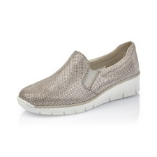 Rieker '53766' Ladies Shoes (Grey)