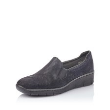 Rieker '53766' Ladies Shoes (Navy)