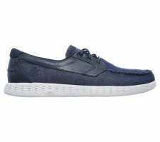 Skechers 'On The Go - Glide' Mens Shoes (Navy/Grey)