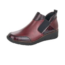 Rieker '53786' Ladies Ankle Boots (Bordo)