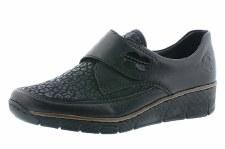 Rieker '537C0' Ladies Shoes (Black)