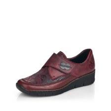 Rieker '537C0' Ladies Shoes (Wine)