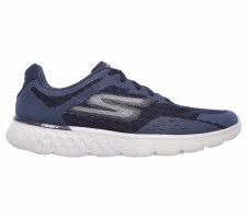 Skechers 'Go Run 400' Mens Trainers (Navy/Grey)