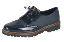 Rieker '54872' Ladies Shoes (Navy)