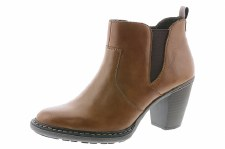 Rieker '55284' Ladies Ankle Boots (Tan)