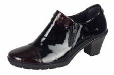 Rieker '57161' Ladies Shoes (Bordo Patent)