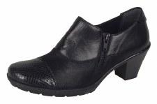 Rieker '57173' Ladies Shoes (Black)