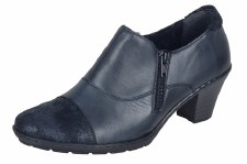 Rieker '57173' Ladies Shoes (Navy)