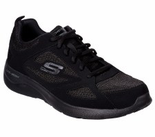 Skechers 'Dynamight 2.0 - Fallford' Mens Trainers (Black)