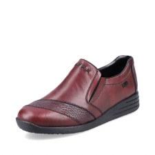 Rieker '58462' Ladies Shoes (Bordo)
