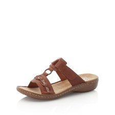 Rieker '608M8' Ladies Sandals (Tan)