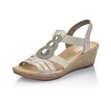 Rieker '62459' Ladies Sandals (Multi)