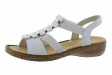 Rieker '62850' Ladies Sandals (White)