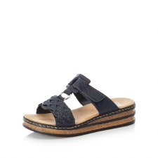 Rieker '629K9' Ladies Sandals (Navy)