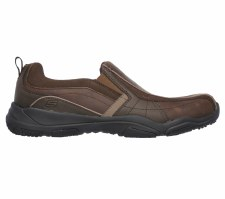 Skechers 'Larson-Berto' Mens Shoes (Brown)