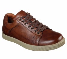 Skechers 'Volden-Fandom' Mens Shoes (Tan)