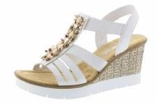 Rieker '65596' Ladies Sandals (White)