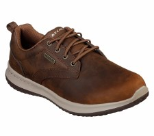 Skechers 'Delson - Antigo' Mens Shoes (Dark Brown)