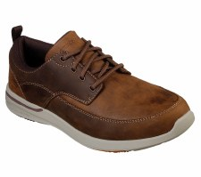 Skechers 'Elent - Leven' Mens Shoes (Brown)