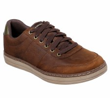 Skechers 'Heston - Avano' Mens Shoes (Brown)