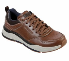 Skechers 'Benago - Treno' Mens Shoes (Brown)