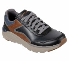 Skechers 'Verrado - Crafton' Mens Shoes (Black/Brown)