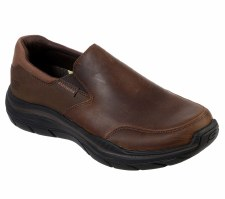 Skechers 'Relaxed Fit Expected 2.0 - Olego' Mens Shoes (Brown)