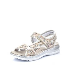 Rieker '66979' Ladies Sandals (Pebble Multi)