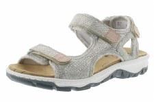 Rieker '68852' Ladies Sandals (Ice/Silver/Rose)