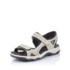 Rieker '68866' Ladies Sandals (Cream/Black)