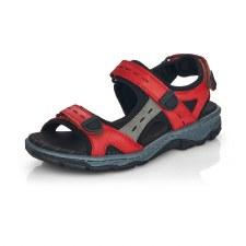 Rieker '68872' Ladies Sandals (Red)