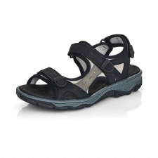 Rieker '68872' Ladies Sandals (Black)