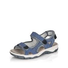 Rieker '68874' Ladies Sandals (Jeans Blue)