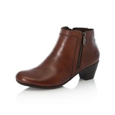 Rieker '70551' Ladies Ankle Boots (Tan)