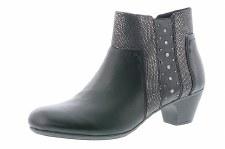 Rieker '70571' Ladies Ankle Boots (Black)