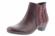 Rieker '70571' Ladies Ankle Boots (Bordo)
