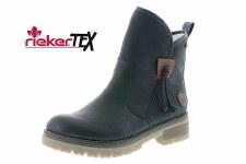 Rieker '707K8' Ladies Ankle Boots (Black)