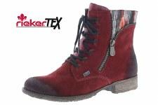 Rieker '70840' Ladies Ankle Boots (Bordo)