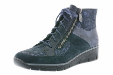 Rieker '73731' Ladies Ankle Boots (Navy)