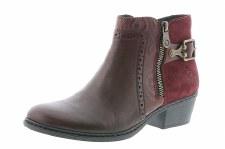Rieker '75585' Ladies Ankle Boots (Bordo)