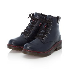 Rieker '76235' Ladies Ankle Boots (Navy)