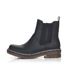 Rieker '76292' Ladies Ankle Boots (Black)