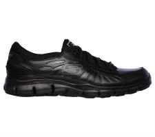 Skechers 'Work: Relaxed Fit' Ladies Trainers (Black)