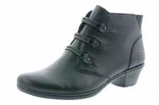Rieker '76984' Ladies Ankle Boots (Black)