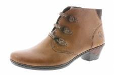 Rieker '76984' Ladies Ankle Boots (Tan)