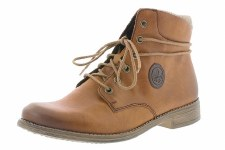 Rieker '77423' Ladies Ankle Boots (Tan)