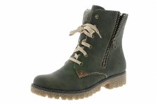 Rieker '78939' Ladies Ankle Boots (Green)