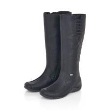 Rieker '79953' Ladies Long Boots (Black)