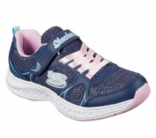 Skechers 'Star Speeder' Girls Trainers (Navy/Pink)