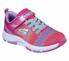 Skechers 'Trainer Lite 2.0' Girls Trainers (Pink Multi)